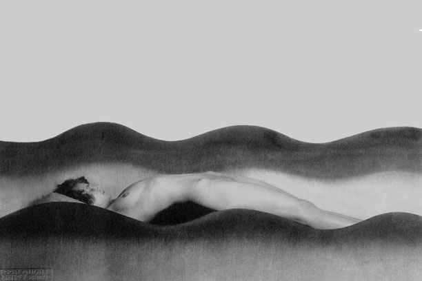 08-Human-being-among-layers---photography-by-Man-Ray