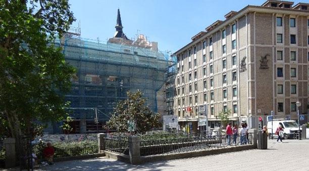 Antiguos Cines Madrid en obras