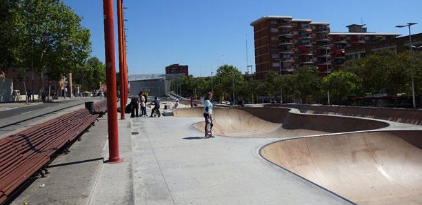 PISTAS DE SKATE EN LA RONDA DE DALT