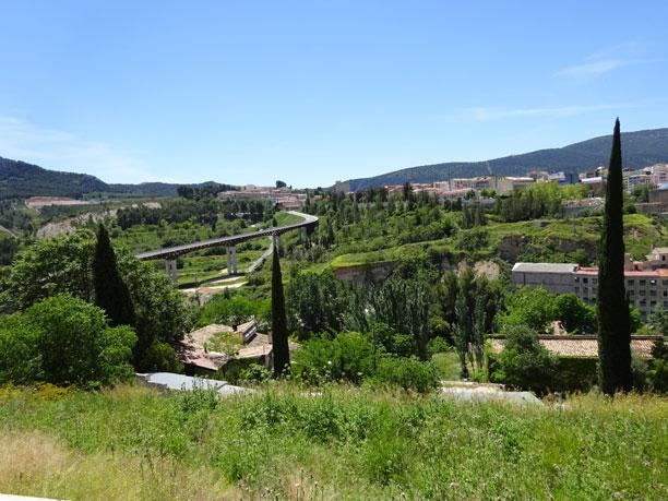 Vistas al puente Francisco Aura Boronat