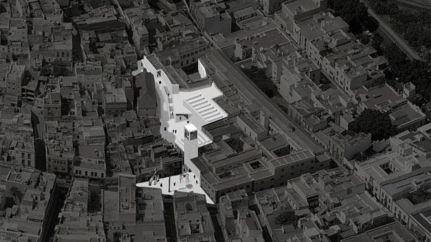 Propuesta Una plaza para el Museo para el concurso Museo de Bellas Artes de Gran Canaria (2015).